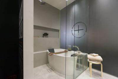 Rivestimento pareti sala da bagno Victoria + Albert in cemento non cemento