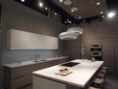 cucina moderna rivestitmento in cemento non cemento