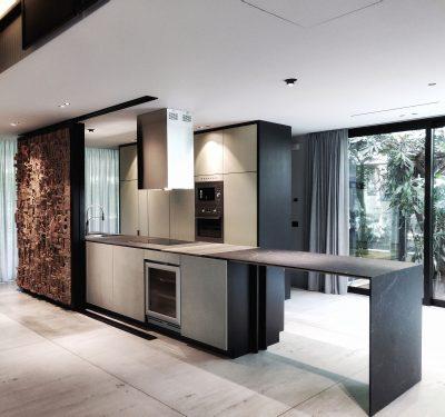 MMA | Massimiliano Masellis Architetti cucina con ante in cemento non cemento