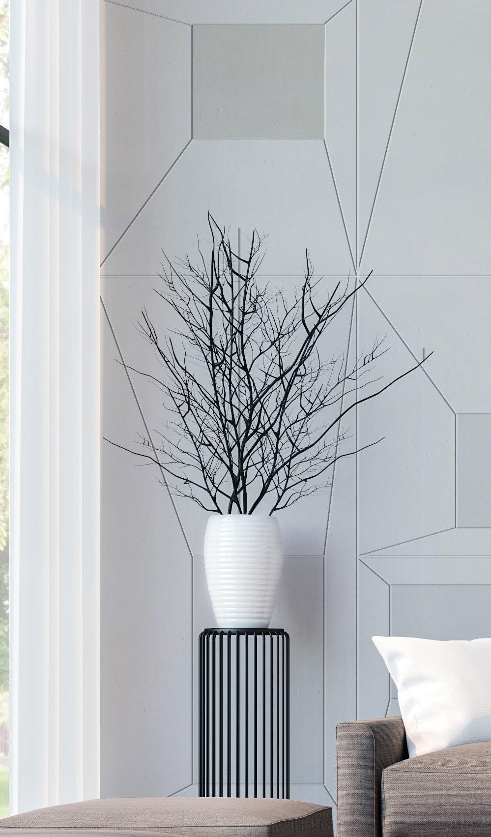 Design Asymmetric box By Luca Battaglini,  Conclad Decor, cemento non cemento